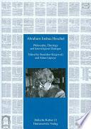 Abraham Joshua Heschel Book PDF