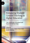 Enhancing Student Centred Teaching In Higher Education Book PDF