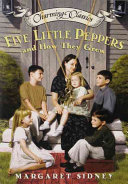 Five Little Peppers and How They Grew Book and Charm