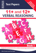 Anthem Test Papers in 11+ and 12+ Verbal Reasoning