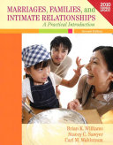 Marriages  Families  and Intimate Relationships Census Update Book PDF