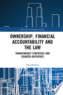 Ownership  Financial Accountability and the Law
