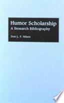 Humor Scholarship