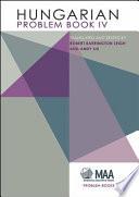 Hungarian Problem Book IV Book PDF