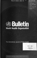 Bulletin of the World Health Organization