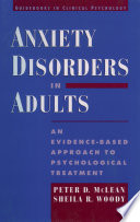 Anxiety Disorders In Adults Book PDF