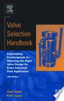 Valve Selection Handbook Book