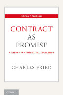 Pdf Contract as Promise Telecharger