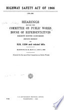 Highway Safety Act of 1966