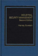 Industrial Security Management Book