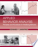 Applied Behavior Analysis  Principles and Procedures in Behavior Modification