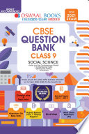 Oswaal CBSE Question Bank Social Science, Class 9 (For 2021 Exam)