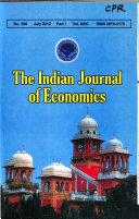 Indian Journal Of Economics