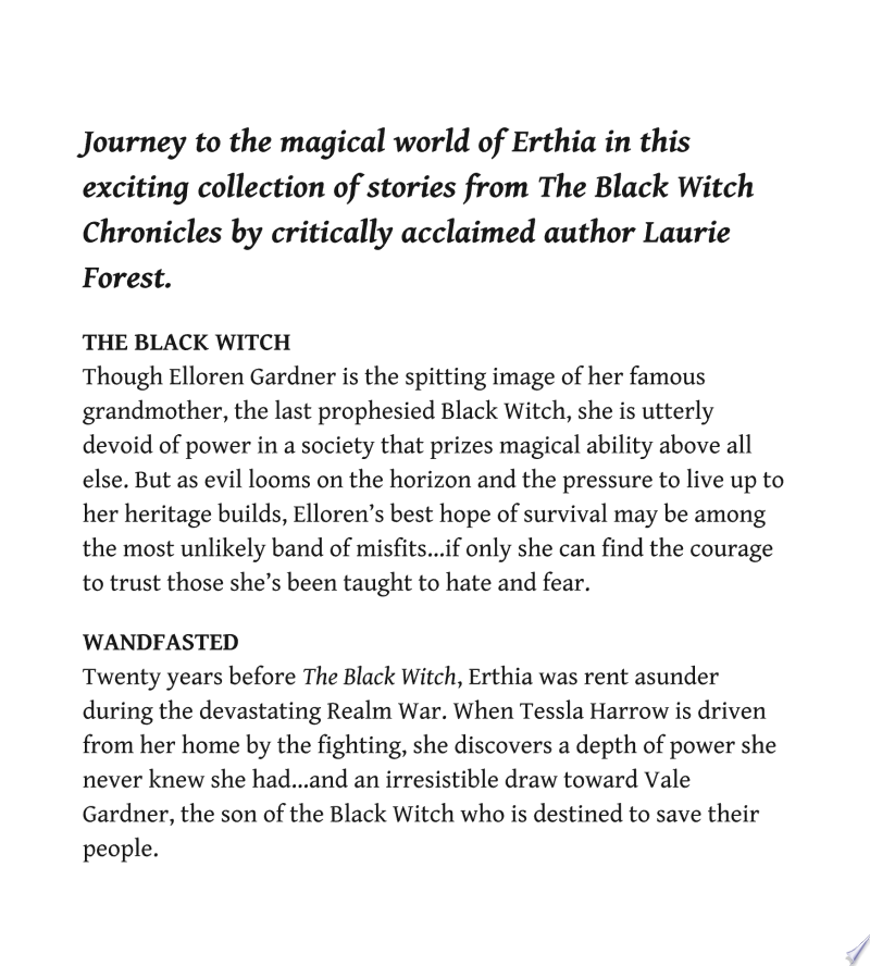 The Black Witch Chronicles Volume 1 image
