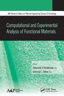 Computational and Experimental Analysis of Functional Materials
