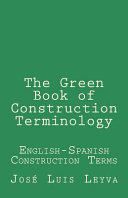 The Green Book of Construction Terminology