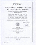 Journal Of The House Of Representatives Of The United States Book PDF