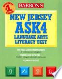Barron's New Jersey ASK4 Language Arts Literacy Test