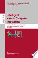 Intelligent Human Computer Interaction