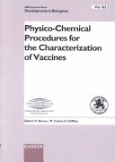 Physico chemical Procedures for the Characterization of Vaccines Book