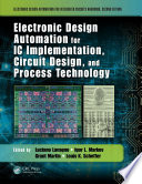 Electronic Design Automation for IC Implementation  Circuit Design  and Process Technology Book