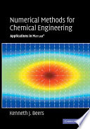 Numerical Methods For Chemical Engineering Book PDF