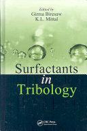 Surfactants in Tribology