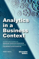 Analytics in a Business Context
