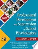 Professional Development and Supervision of School Psychologists Book
