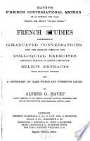 Havet's French Conversational Method ...