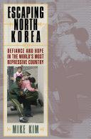 Escaping North Korea Book