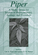 Piper: A Model Genus for Studies of Phytochemistry, Ecology, and Evolution