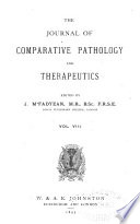 Journal of Comparative Pathology and Therapeutics Book