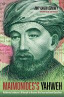 Pdf Maimonides's Yahweh Telecharger