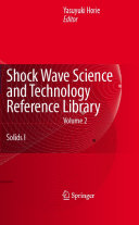 Shock Wave Science and Technology Reference Library, Vol. 2