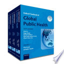 Oxford Textbook of Global Public Health Book