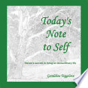 Today's Note to Self