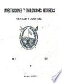 Investigaciones y divulgaciones históricas
