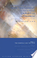 A General Sketch Of The New Testament In The Light Of Christ And The Church