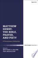 Matthew Henry The Bible Prayer And Piety