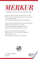 MERKUR Gegründet 1947 als Deutsche Zeitschrift für europäisches Denken - 2018-06