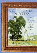 Do Try to Speak as We Do Pdf/ePub eBook