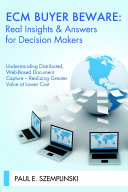 ECM BUYER BEWARE  Real Insights   Answers for Decision Makers
