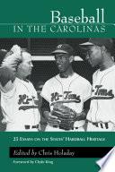 Baseball in the Carolinas