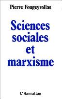 Pdf Sciences sociales et marxisme Telecharger