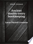 Ancient double entry bookkeeping