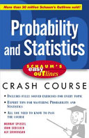 Schaum s Easy Outline of Probability and Statistics