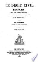 Cours de Droit Français suivant le Code Civil