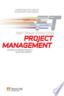 Project Management Fast Track To Success