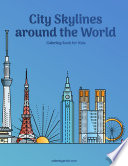 City Skylines around the World Coloring Book for Kids 1